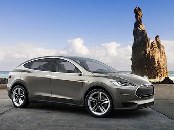 Кросовер Tesla Model X отрисмає 700-сильний двигун