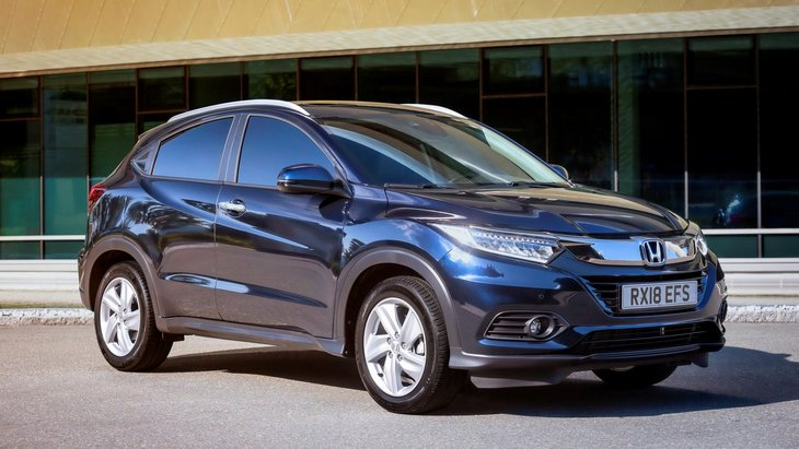 Honda представила рестайлінгову версію HR-V