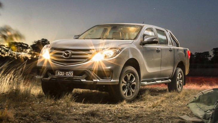 Mazda офіційно представила оновлений пікап BT-50