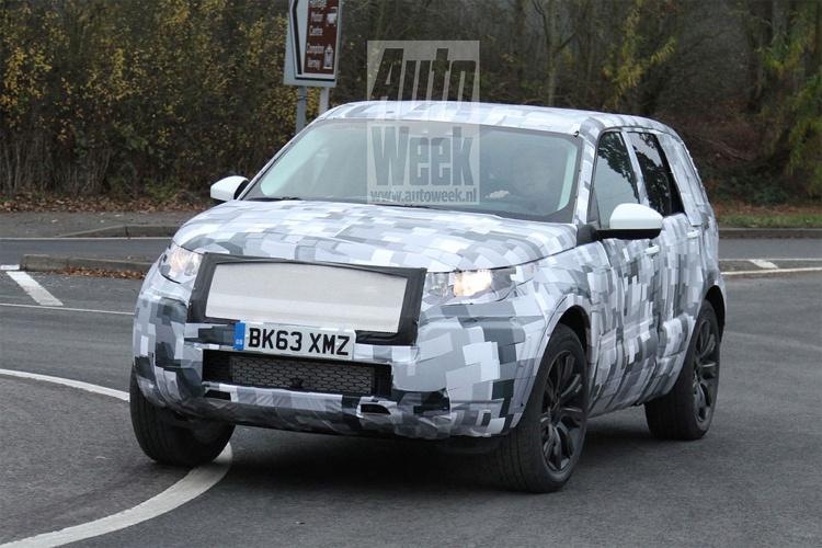 Land Rover тестує Freelander нового покоління