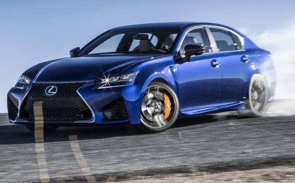 Lexus GS F 2016: офіційне відео