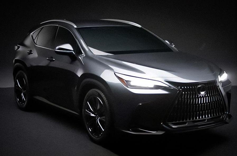Lexus NX 2022 повністю розсекретили