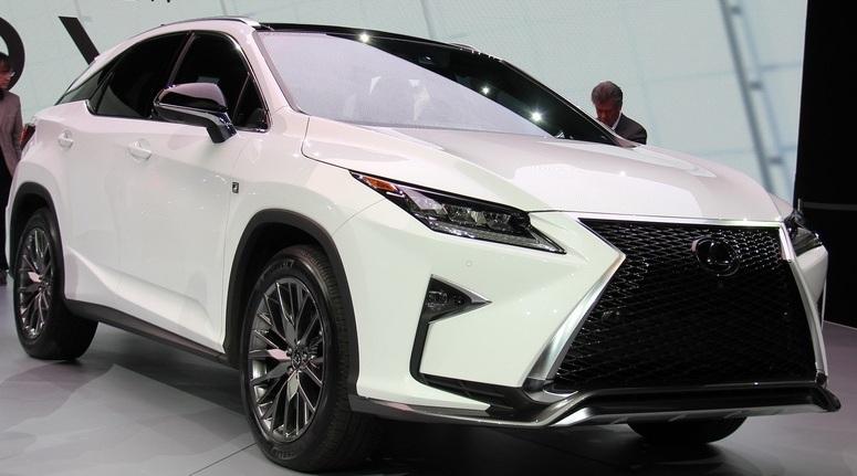 Lexus RX 2016: старт продажів