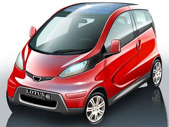 Електромобіль майбутнього від Lotus