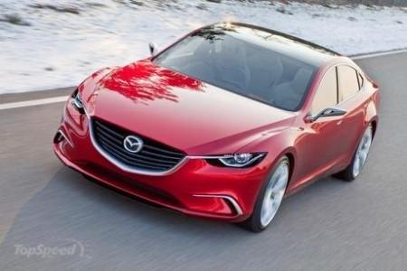 Концепт Takeri перетворюється на Mazda 6 нового покоління