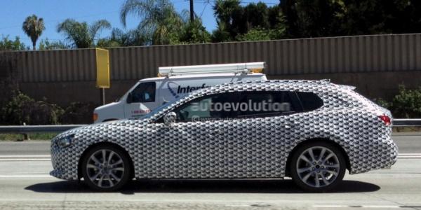 Перше фото нової Mazda6