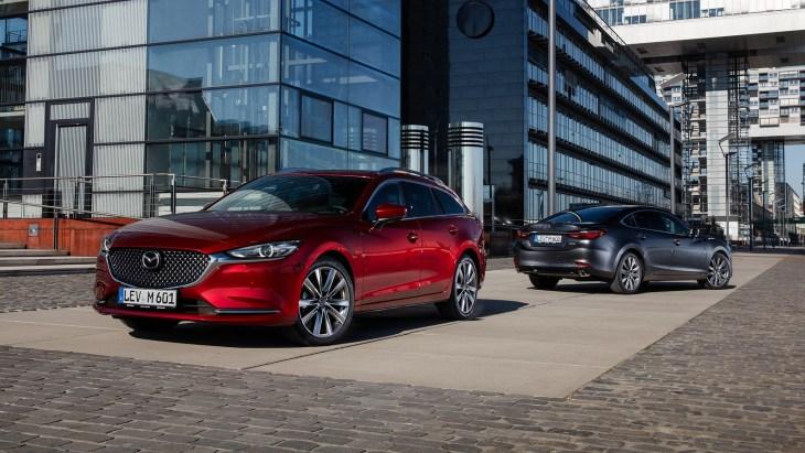 Оновлений седан і універсал Mazda6 2018 модельного року