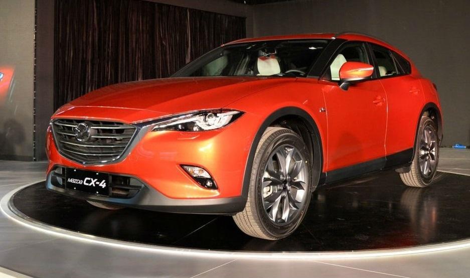 Кроссовер Mazda CX-4 офіційно представлений