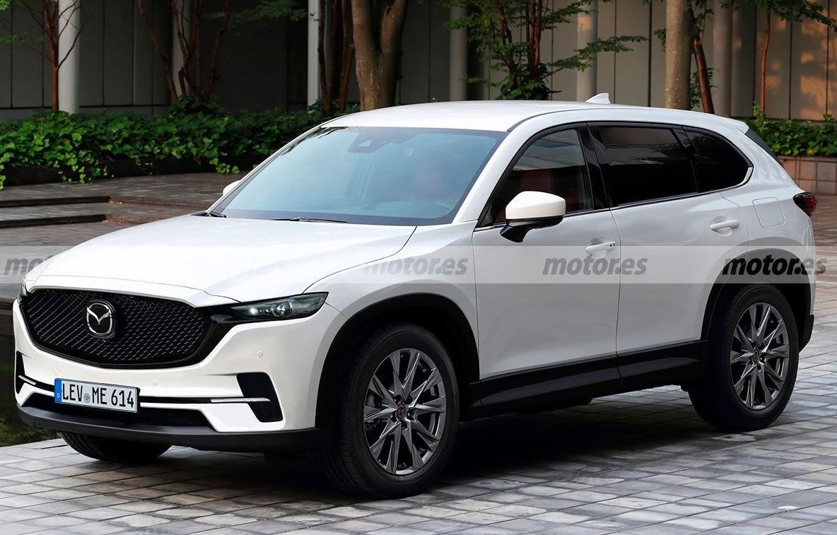 Mazda готує кросовер CX-5 нового покоління: перше зображення