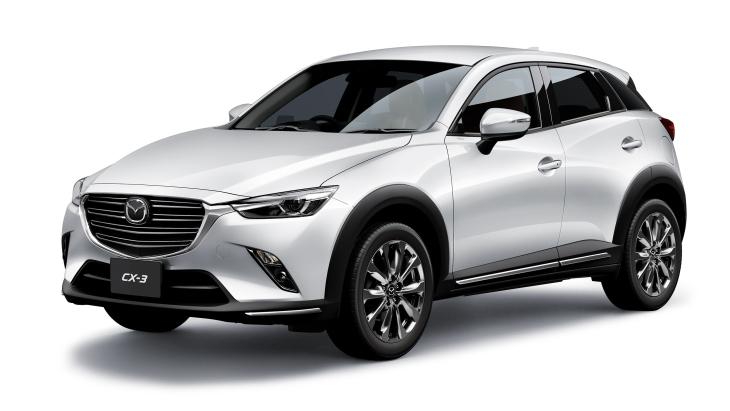 Mazda запустила продаж оновленого кросу CX-3