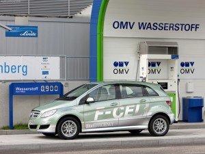 Mercedes завершує випробування водородного B-Class F-Cell