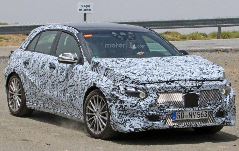 Mercedes-Benz A-Class 2018: фото нового покоління