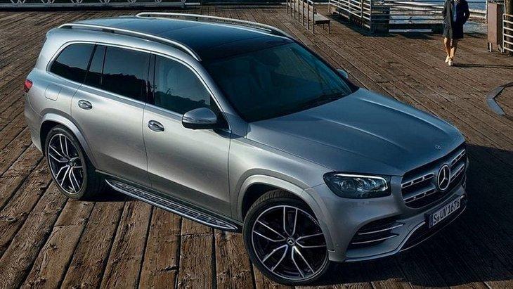 У мережу потрапили перші фото конкурента BMW X7 від Mercedes-Benz