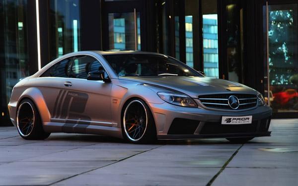 Безцеремонний Mercedes CL-Class Black Edition V2 від Prior Design