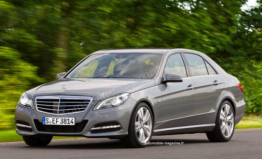 Новий Mercedes E-класу отримає мотор об'ємом 1,6 л
