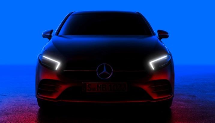 Новий Mercedes A-Class 2019: офіційне зображення