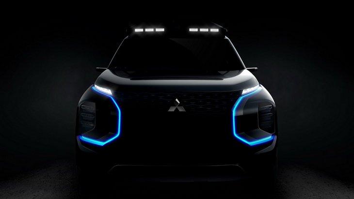 Mitsubishi Engelberg: перші зображення нового позашляховика