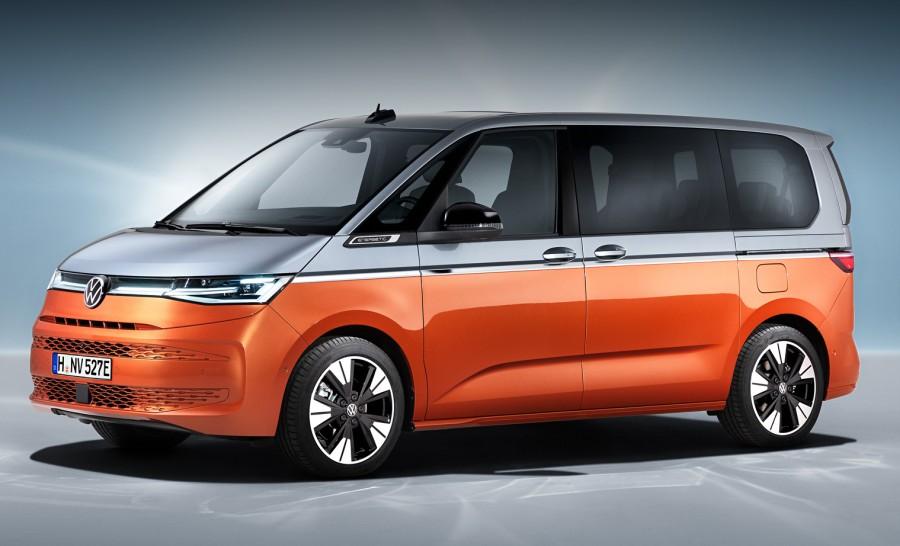 Volkswagen T7: Multivan, Transporter або Caravelle (ФОТО)