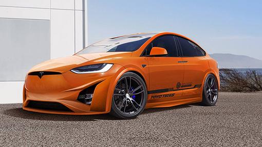 Tesla Model X отримав новий дизайн
