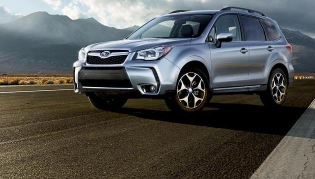 Subaru представила оновлений кросовер Forester 2016