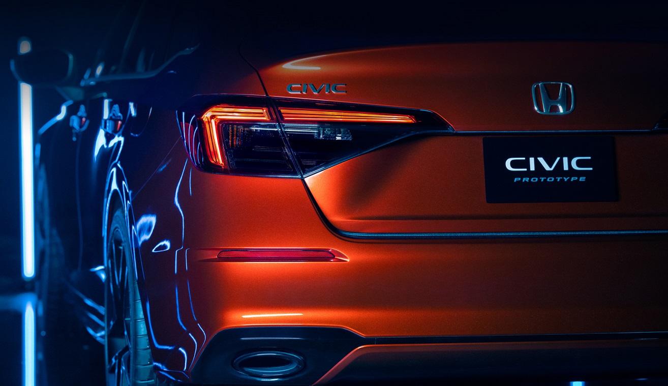 Honda Civic 2021 року: перші зображення новго седена