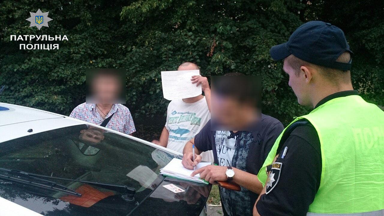 Водія оштрафували на 30 600 гривень