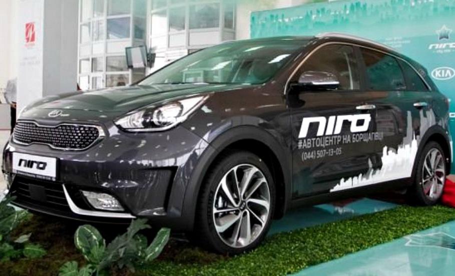 На ринку України стартували продажі гібрида KIA Niro