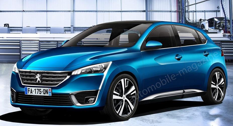 Новий Peugeot 208 стане електрокаром