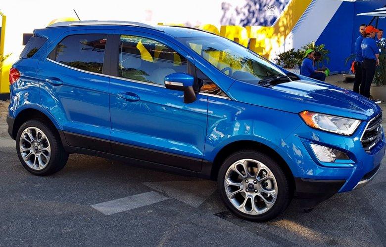 Нова інформація про модернізований Ford EcoSport