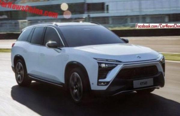 Китайці розсекретили конкурента Tesla Model X