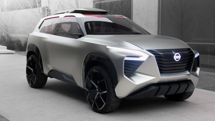 Nissan показав позашляховик Xmotion