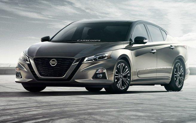 Nissan Teana 2019: перші зображення новинки