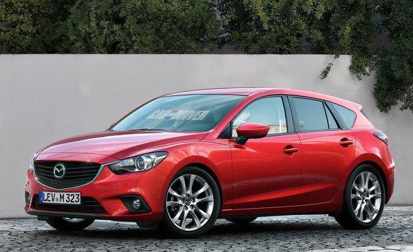 Нова Mazda 3 - перші дані