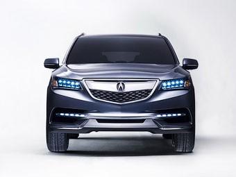 Нова Acura MDX: быльше технологый та місця