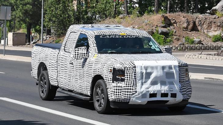 Новий Ford F-150 підловили на тестах