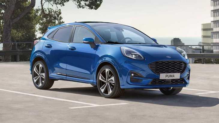 Ford представив новий кросовер Puma