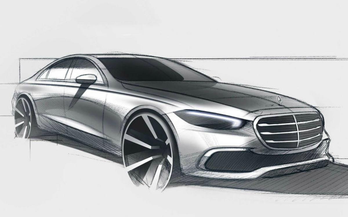 Компанія Mercedes-Benz опублікувала новий тизер S-класу