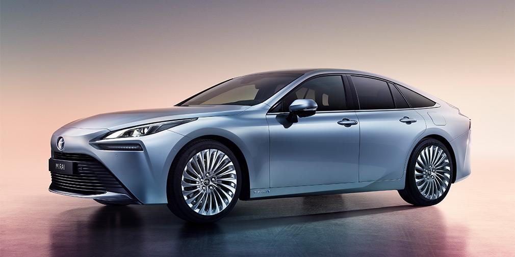 Новий водородний седан від Toyota