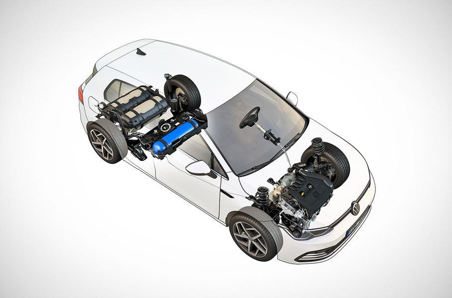 Новий Volkswagen Golf отримав газову версію