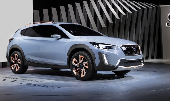 Новий позашляховик Subaru XV 2017