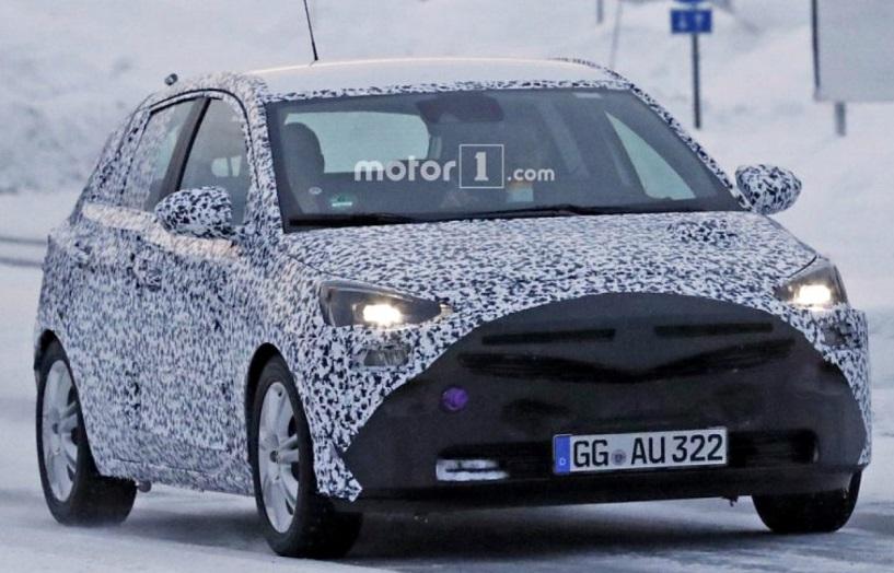 Новинку Opel Corsa F розсекречено