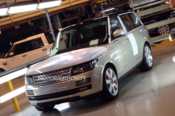 Перше фото нового Range Rover