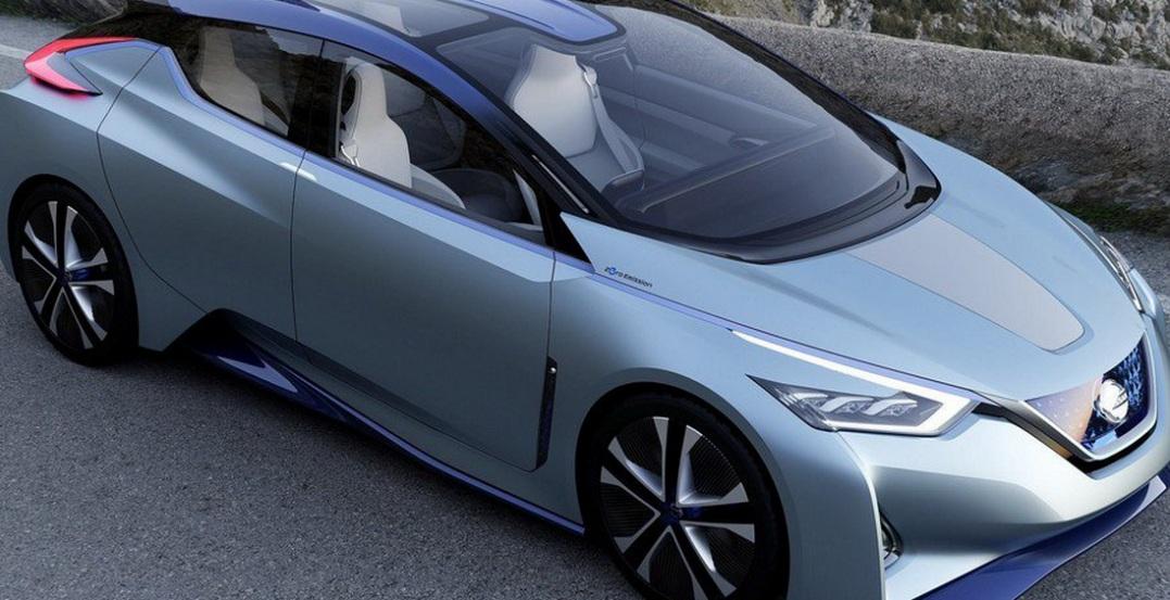 Оновлений Nissan Leaf сфотографували під час тестування