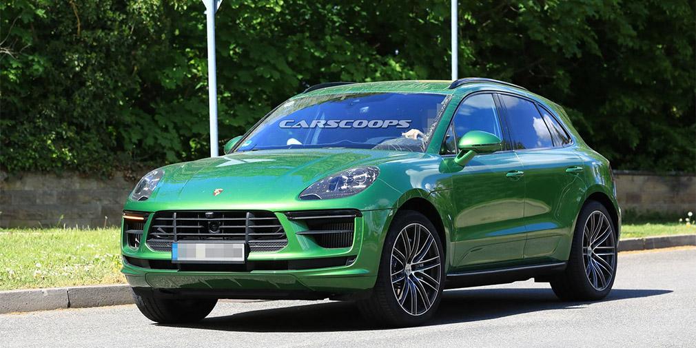 Оновлений Porsche Macan сфотографували без камуфляжу