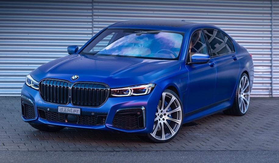 BMW 7 Series отримав потужну гібридну установку