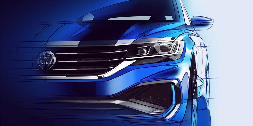 Volkswagen назвав терміни випуску оновленого Passat