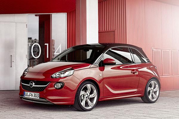 Opel офіційно представив малолітражку Adam