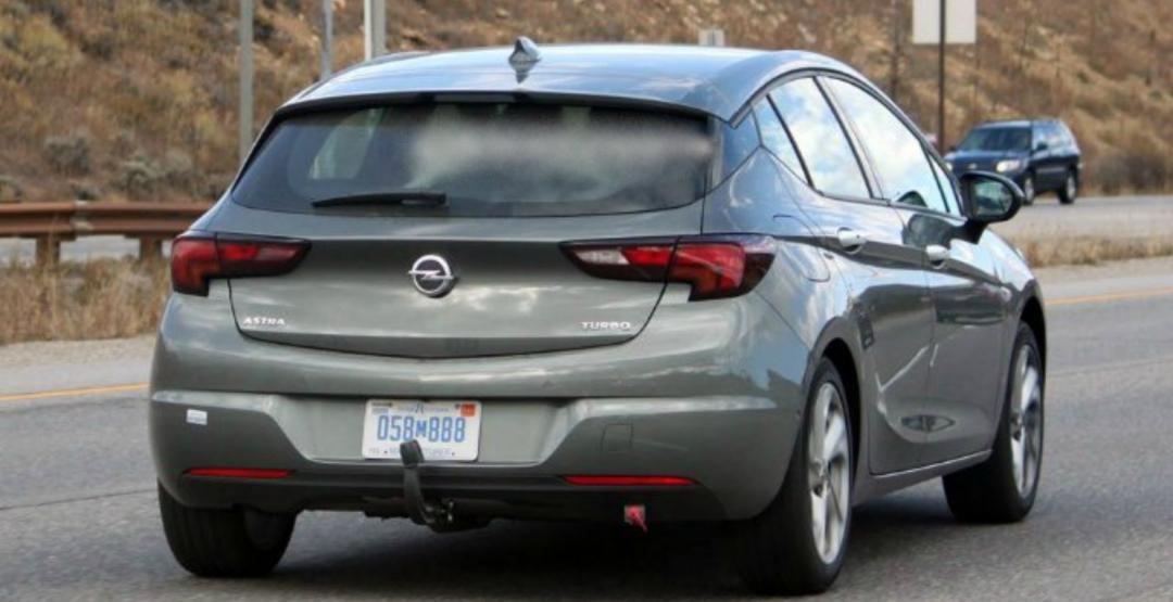 Opel Astra 2017 виходи на автомобільний ринок