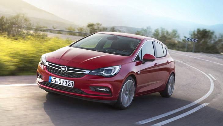Opel випустить нове покоління Astra в 2021 році