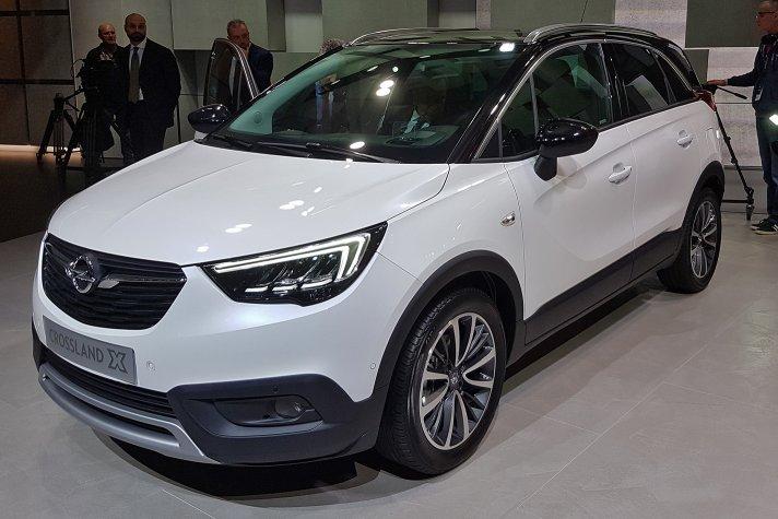 Opel показав новий кросовер Crossland X